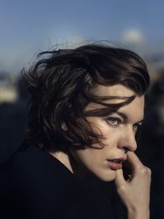edenliaothewomb:  Milla Jovovich, photographed by Annemarieke van Drimmelen for The Edit, Dec 5, 2013. (click the image for EXTREMELY high-r...