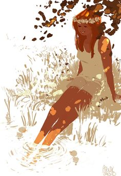 Summer lady. by PascalCampion on DeviantArt