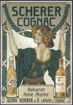 Cognac - Año 1910.-