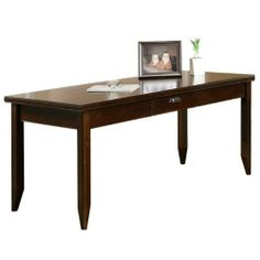 Martin Home kathy ireland Furnishings TLTribeca Loft Writing by Martin Home Furnishings. $539.00. Finish:Burnt Umber Cherry  Tribeca Loft Writing Table  Center pencil drawer  Can be used as left or right facing return  Cast iron hardware  Easy to assemble  One utility drawer and one letter drawers  Oiled bronze finished hardware  10 year limited warranty