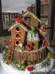 National Gingerbread Competition 2013   National Gingerbread House Competition at The Omni Grove Park Inn in ...