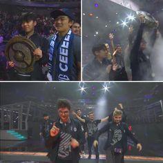 Champions! @ogdota2 - Congrats @og_n0tail and the guys! GGWP! - #dreamog  - #ti9 - #noobarena_dota2 - #defenceoftheaegis - @dota2 Dota 2, Esports, Funny Images, Champion, How To Memorize Things, Community, Guys, Memes, Collection