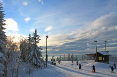 Great skiing weather at Oslo Winter Park