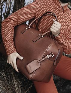Salvatore Ferragamo Spring/Summer Men's Bag Collection 2013 - Repinned