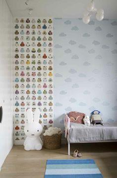 brother and sister room #miffy #sebra #luckyboysunday