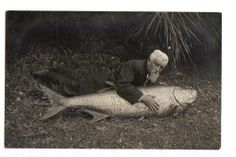 Uncle Norbert sure loved his fish.