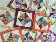 Scrappy Pinwheel in a Square - Part 2