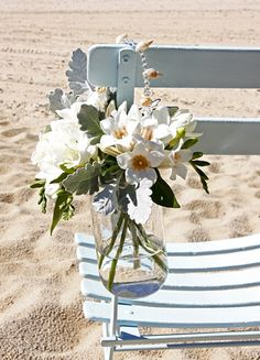 great way to keep flowers fresh, especially on a hot day!