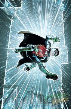 Read Robin - Son of Batman Issue Online. Robin - Son of Batman in one page for Free Comic Book Artists, Comic Artist, Comic Books Art, Son Of Batman, Batman Family, Damian Wayne, Dc Comics Art, Marvel Dc Comics, Batman Universe