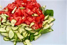 Gaspacho ingredients