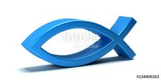 "Download the royalty-free photo ""Christian Fish,icthus isolated on white background. 3D Render Illustration"" created by Fotolia365 at the lowest price on Fotolia.com. Browse our cheap image bank online to find the perfect stock photo for your marketing projects!"