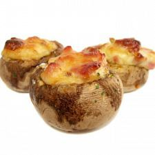 Baked Stuffed Mushrooms! yummy wit some of our Himalayan Cheese...Nice on a wintry nite before potato soup