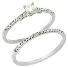 2 Piece Women's Rings Wholesale - Afford Price: Contact Us @ (213) 689-1488 or info@silvercity.com