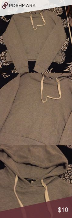 LAST CHANCE!! F21 Grey Hoodie XS-S CLOSET CLOSING ON 27TH OF NOVEMBER!!!!!!!!!! SO BUY NOW NOW NOW SHIPPING TODAY ASAP  New without tags. Fits a xsmall-small best. NO TRADEs Forever 21 Tops Sweatshirts & Hoodies