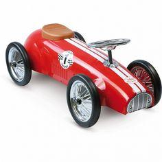 Metalowy jeździk Trophy Nr 1 Czerwony - Vilac