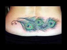 tattoo ideen frau rücken blumen