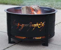 The One Ring Firepit | DudeIWantThat.com