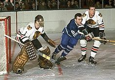 Dave Dryden, Ron Ellis and Tom Reid. 1968