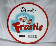 Frostie-Root-Beer-Soda-Pop-36-Tin-Sign-New-in-Box-Free-Shipping