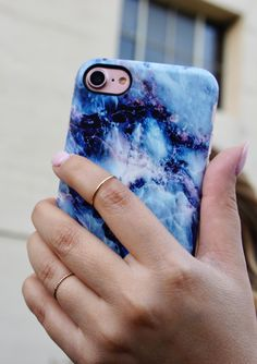 Geode on Rose Gold Part of the Marble Collection for iPhone 7 iPhone 7 Plus from Elemental Cases
