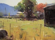 Colley Whisson   A Timeless Moment, 7x10 Oil