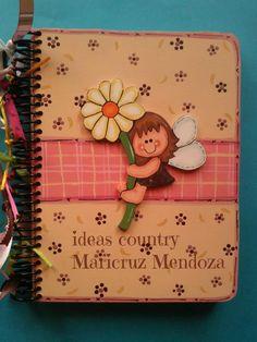 libreta madera country