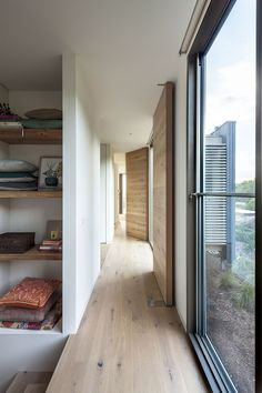 | PROJECTS | Pivot me good, love the wood full height doors. Foam Road Fingal Residence by Jam Architecture (16)