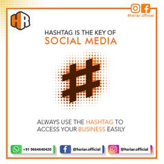 #HASHTAG is the key of #SOCIAL #MEDIA. .. Always use the hashtags to access your business easily.. .. Contact US Email : hsriar.work@gmail.com Whatsapp : +91 9664640420  #hashtag #hsriar #socialmedia #marketing #business #hsriarofficial #website #developer #designer #digitalmarketing #graphics Social Media Marketing, Digital Marketing, Website Developer, Hashtags, Graphics, Key, Business, Graphic Design, Unique Key