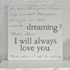 Handmade Wooden I Will Always Love You Wall Art | Latest Additions | | Swanky Maison