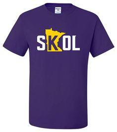 Skol T-Shirt Or Hoodie Minnesota Vikings Chant Nfc Championship Case Keenum Mpls Hooded Sweatshirts, Hoodies, Cotton Shorts, Tshirts Online, Colorful Shirts, Size Chart, Trending Outfits, Long Sleeve, T Shirt