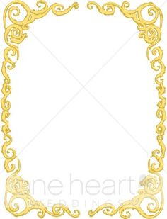 Free Victorian Borders And Frames Stock Image Of Gold