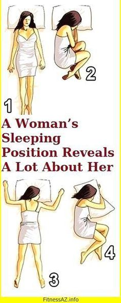 What Your Sleeping Position Reveals About Your Personality! #sleep #positions #sign #woman #her