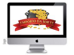 Logo criado para empresa EMPÓRIO DA SORTE pela agência Nkdesign