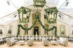 Wedding Venues Planning TOAST events, Event Design Jackson Durham Brides: Georgia Wedding at the Atlanta History Center's Swan House: Photos - This garden- turned dinner-party will take your breath away.