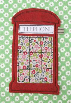 Have to have one!! How cute (high squeal here!)  Telephone Box mobile phone case by HelloClementine on Etsy, $18.00