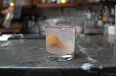 This gin-based cocktail is one of The Stanton Social restaurant's most popular, with its combination of tart grapefruit and sweet lemon-and-lime simple syrup, but it's a synch to recreate at home. Ingredients:1 oz. Nolet's Silver Dry Gin.75 oz. Maraschino Liqueur.5 oz. Lemon/Lemon Simple Syrup1 Wheel Fresh Grapefruit Directions:Muddle wheel of grapefruit in a cocktail shaker. Add the Maraschino liqueur, lemon/lemon simple syrup and gin. Shake and pour into rocks glass. Recipe courtesy of…
