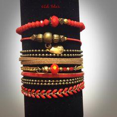 Compo manchette 4 bracelets