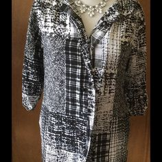 """Covington Blouse This is a """"reposh"""". Beautiful blouse, just a little too small for me.  Button up blouse has 3/4 sleeves that also button up. Lightweight and in excellent condition Covington Tops Blouses"""