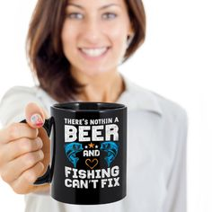 Beer and fishing mug,fathers day fishing, fishing gifts for men,  fishing decor,fly fishing gifts,angler fish, fly fishing,father's day, by Bulwar on Etsy Fly Fishing Gifts, Angler Fish, Teachers' Day, Foster Parenting, Wedding Engagement, Fathers Day, Beer, Mugs, Handmade Gifts
