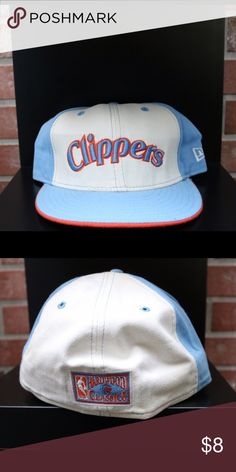 buy online 31c04 54ea5 San Diego Clippers New Era fitted 7 New fitted from San Diego Clippers One  minor stain on the back bottom New Era Accessories Hats