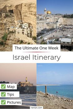 One week in late autumn through Israel. We did a little round trip through the middle and southern part of the country. Travel Alone, Asia Travel, Late Autumn, Map Pictures, Virtual Travel, Israel Travel, Short Trip, Round Trip, Family Adventure