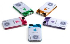 These are the most unbelievably retro iPhone ceases ... In original candy colors .. Can you name them without looking :-)