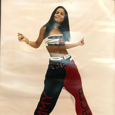 Aaliyah tommy Hilfiger Outfit – Best Outfits to Wear Aaliyah Costume, Aaliyah Outfits, Aaliyah Style, 90s Costume, Costumes, Tommy Hilfiger Outfit, 2000s Fashion, Hip Hop Fashion, Fashion Outfits