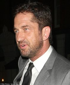 Gerard Butler had obviously decided to dress to impress before turning up at the Chiltern Firehouse in London on Thursday Gerard Butler, Pretty Men, Beautiful Men, The Chiltern Firehouse, London Has Fallen, Paisley Scotland, Danny O'donoghue, Law Abiding Citizen, Gb Bilder