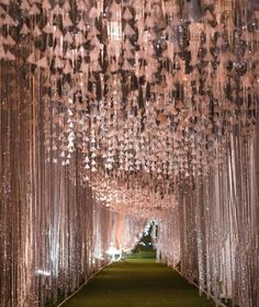 Wedding entrance walkway is the crucial spot where many guests passing by. Make them enjoy by creating magical wedding walkway decoration. Decoration Hall, Wedding Hall Decorations, Decoration Entree, Marriage Decoration, Wedding Themes, Wedding Ideas, Wedding Walkway, Wedding Reception Entrance, Wedding Mandap