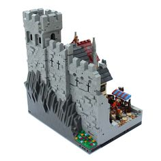 Lego Moc, Woodstock, Lego Burg, Wooden Room, Green Plates, Battle Droid, Wars Of The Roses, Buy Lego, Star Wars Minifigures