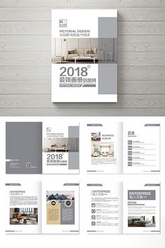 Atmospheric high-end interior decoration Brochure design Graphic Design Brochure, Brochure Layout, Graphic Design Posters, Magazine Layout Design, Book Design Layout, Design Layouts, Graphisches Design, Cover Design, Editorial Design