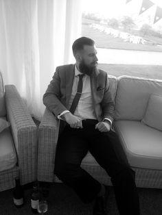 beard in a suit ? all the yes! - full thick beards mustache bearded man men bearding mens' style tie dapper #sharpdressedman #beardsforever