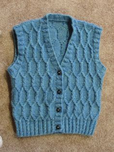 Cabled Vest -- from Vested Interest