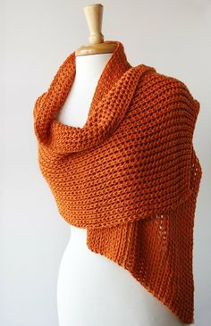 knitted shawls | Handmade Elegant Hand-Knit Shawl / Wrap - Custom Colors And Materials ...